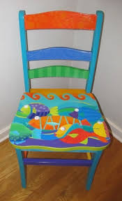 colorful painted furniture.  Painted 17 Best Ideas About Painted Chairs On Pinterest Vintage Colorful Furniture U