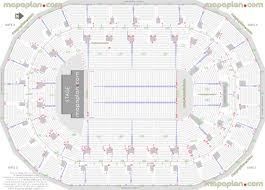 Bell Mts Centre Seating Chart Mts Centre Detailed Seat Row Numbers End Stage Concert