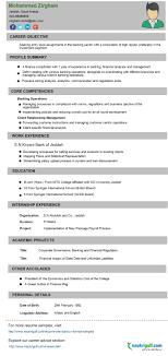 template sample sample resume for bank job attractive resume format for banking finance job templatesample resume banking sample resume