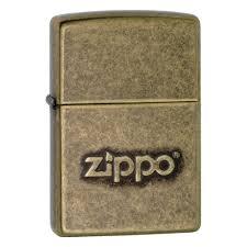 <b>Зажигалка ZIPPO</b> Classic с покрытием <b>Antique Brass</b>, матовая ...