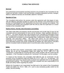 Agreement In Pdf Fascinating Consulting Contract Template Consulting Agreement 44 Free Pdf Doc