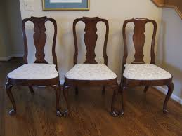 dining room 1960s vine pennsylvania house georgian style solid cherry dining chairs six pennsylvaniahouse 1249