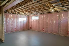 ideally you ll want to remove the pink wall wrap insulation entirely and have a new insulation and vapour barrier system installed or a spray foam