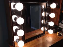 vanity with lights around mirror. vanity with lights around mirror