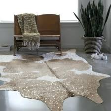 cow hide rug taupe champagne faux cowhide rug zebra hide rugs uk
