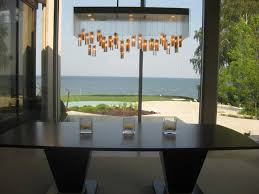 mountain light fixture contemporary dining room
