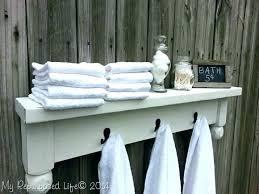 fancy towel hook rack somerefoorg