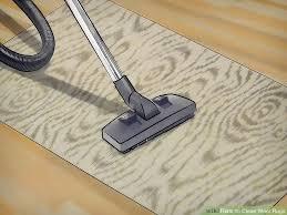 image titled clean wool rugs step 2