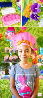 trolls party ideas diy trolls headbands