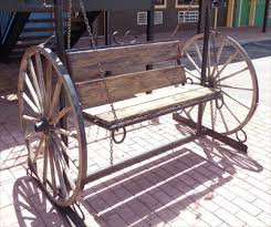 Wagon Wheel - Bench/Swing B - Amarillo, Texas, USA - Wagon Wheels on  Waymarking.com
