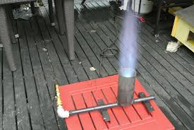 picture of build a propane jet burner brewing seafood