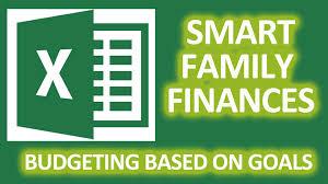 Video Blog Smart Family Finances In Excel Budget Based On