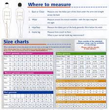magnum xl size chart size chart sewing techniques sewing patterns sewing basics