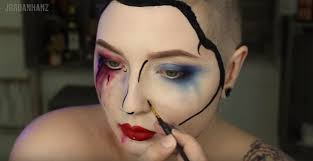 step 6 time to have fun harley quinn makeup tutorial
