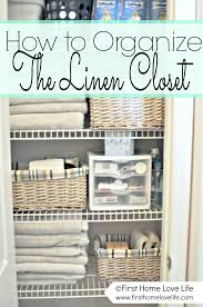 7 linen closet organization and closet pharmacy first home how to organise bathroom closet