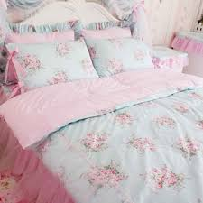 shabby chic rose faded bedding