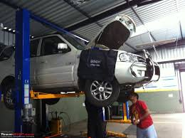 tata safari vx 4x4 ownership review at 40 000 kms 0119 jpg pics of the service center