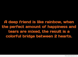 Deep Quotes About Friendship deep quotes on friendship Motivational Quotes 13