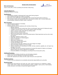 9 Job Description Resume Mla Cover Page