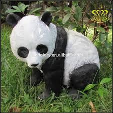 outdoor garden decorate resin crafts panda statue