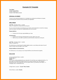 How To Write A Federal Resume Beautiful Profile Resume Example