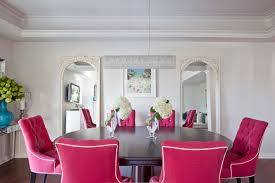 pink dining chairs contemporary room benjamin moore with regard to remodel 2