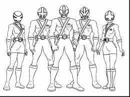 Power Rangers Coloring Page Coloring Pages
