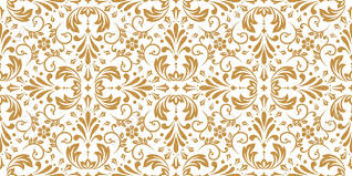 Baroque Design Wallpaper Floral Pattern Vintage Wallpaper In The Baroque Style Seamless