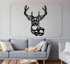 deer metal wall decor animal wall