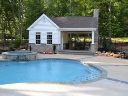 pool house with outdoor kitchen plans. Outdoor Kitchens. Warrenton Virginia Landscape Architect Pool House With Kitchen Plans