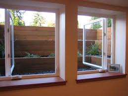 Basement windows Wide Egress Windows This Is Great Idea For Basement Windows Note The Raised Beds Outside The Window Great For Added Privacy Pinterest Egress Windows This Is Great Idea For Basement Windows Note The