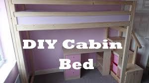 diy cabin bed under 70