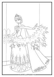 Frozen Elsa Kleurplaat Legends Of The Guardians Frozen Coloring