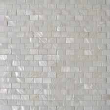 mother of pearl shell sheet white seashell mosaic subway tile mesh bathroom liner wall tiles kitchen