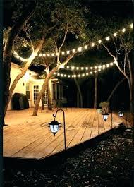 outdoor hanging lights backyard for gazebos string costco