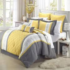 yellow and white comforter sets best 25 set ideas on gray 8