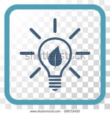 vector square blue icon lighting bulb. eco light bulb cyan and blue vector icon image style is a flat pictogram symbol square lighting u