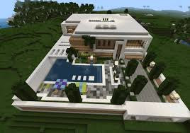 Case Piccole Minecraft : Casa moderna for minecraft pe maps mcpe