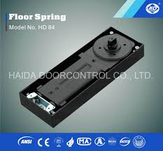 china hd 84 taiwan quality double cylinder glass door floor spring ce standard china floor hinge door closer