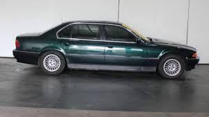 1998 BMW 740il E38 Green 5 Speed Auto Steptronic Sedan - YouTube