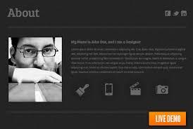 Free Html Resumes June 2014 Web Resume Resume Website Template