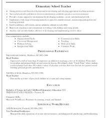 Sample Resume Format For Teachers – Resume Tutorial