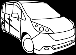1200x869 minivan drawing clipart panda