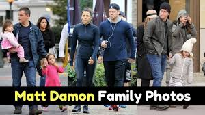 Actor Matt Damon Family Photos With Spouse, Daughter, Mother, Father,  Brother, Childhood Picture - YouTube