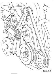 i need a diagram for a ford f serpentine belt v