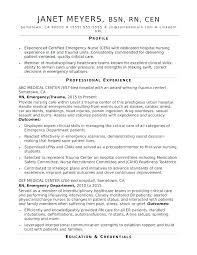Sample Nursing Resume Objective Sample Nurse Resume Sample Nursing ...