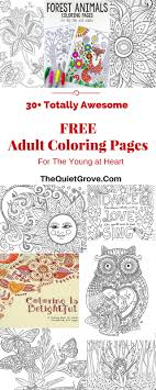 30 Totally Awesome Free Adult Coloring