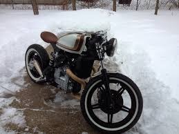 1980 honda cx500 bobber by barn built cafe racer moto verso