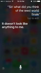 Sirius Stock Quote Magnificent Siri Watches Westworld Westworld