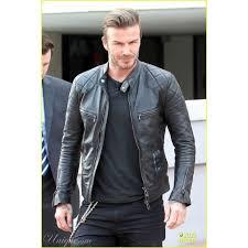 fashion pure leather hollywood style jacket jk189